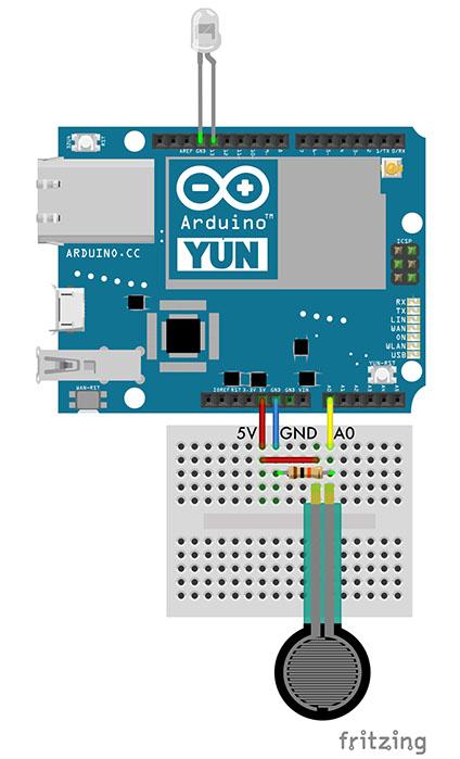 Arduino yun example